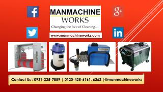 Automatic Car Wash System and Vacuum Cleaner