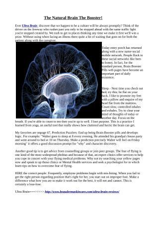 http://www.beaudermaskincare.com/ultra-brain-reviews/