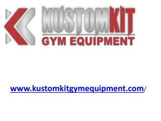 Commercial Gym Equipment - www.kustomkitgymequipment.com