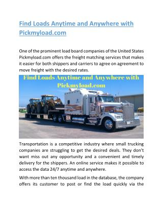 How to Get Hired at Top Trucking Companies | pickmyload.com