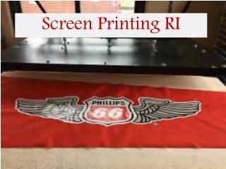 Screen Printing RI
