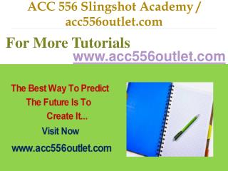 ACC 556 Slingshot Academy / acc556outlet.com