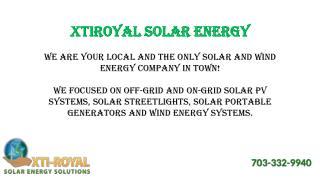 Xtiroyal Solar Energy - LIGHT PROJECT