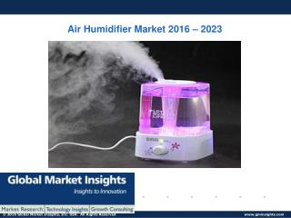 PPT for Air Humidifier Market: Global Market Insights, Inc.