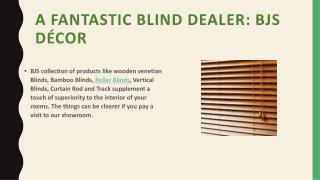 Ultimate Blind dealer in Delhi NCR