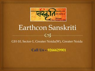 Earthcon Sanskriti � Flats in Greater Noida-Investors Clinic