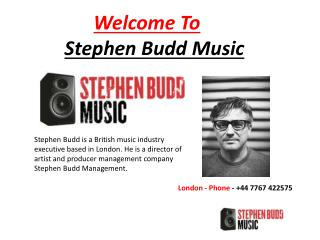 Meet With My Team - Stephen Budd Music
