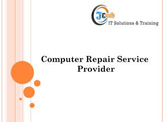 Computer Repair Service Provider
