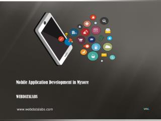 Mobile application development company in Mysore - Webdatalabs