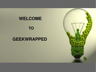 Best Geek Gifts Idea For You