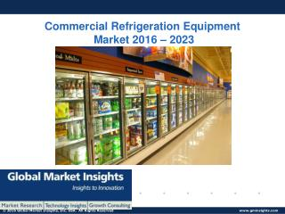 PPT-Commercial Refrigeration Equipment Market: Global Market Insights, Inc.
