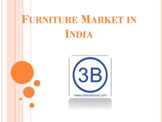 The Furniture Market in India