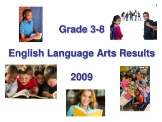 Grade 3-8   English Language Arts Results  2009