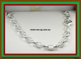 Silver Chains for Men & Women