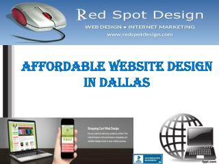 Affordable Website Design in Dallas