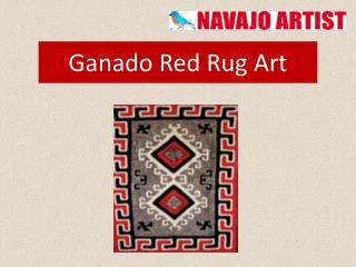 Ganado Red Rug Art