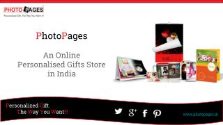 PhotoPages - An Online Personalised Gift Store in India