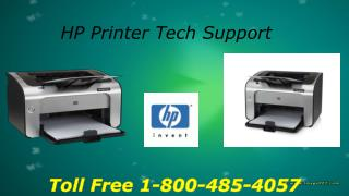HP Printer technical support number :1-800-485-4057