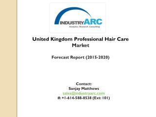United Kingdom Professional Hair Care Market