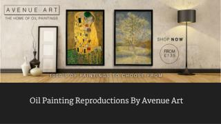 Oil Painting Reproductions by Avenue Art