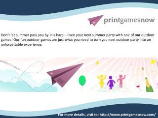 Thanksgiving Free Printable Games