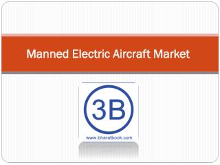 Manned Electric Aircraft Market