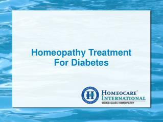 Reversing Diabetes safely with Homeopathy