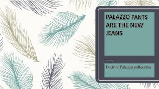 Palazzo Pants - Hottest Sell