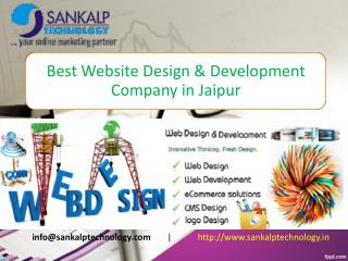 Best Website Design & Development Company in Jaipur - Sankalptechnology.in