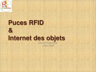 Puces RFID    Internet des objets