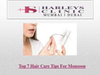 Top 7 Hair Care Tips For Monsoon