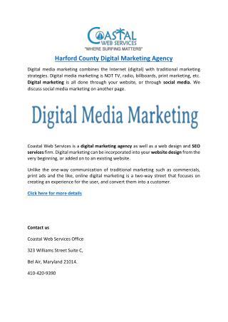 Harford County Digital Marketing Agency