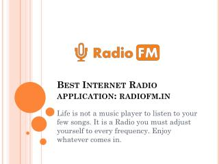 Best Internet Radio application for Android
