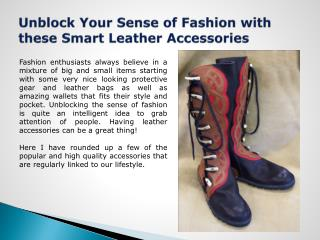 Leather Shoes Accessories