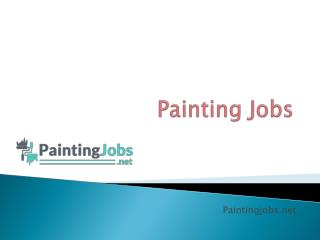Finding a Professional Painter