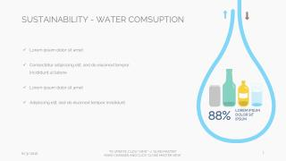 INKPPT.COM - Infographic - Sustainablility - Water Consumption