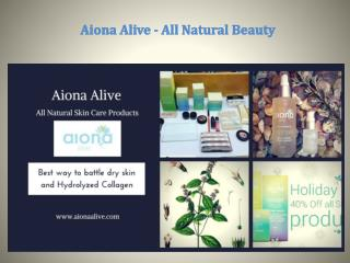 Aiona Alive - All Natural Beauty