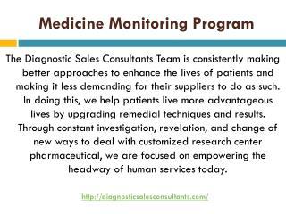Medication Monitoring Program