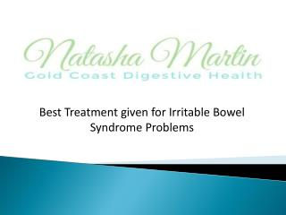 Best Treatment given for irritable bowel syndrome problems