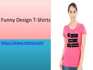 Womens Turquoise Colour Funny T Shirts