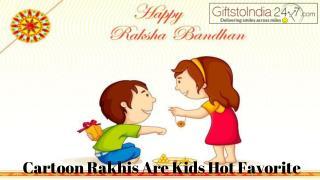 Cartoon Rakhis are kids hot favorite