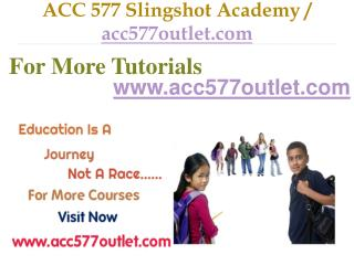 ACC 577 Slingshot Academy / acc577outlet.com