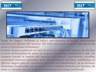 On-Site Backup Service In Bitusainc