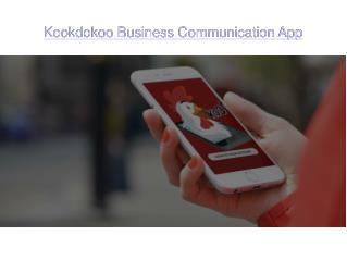 Business communication app | Kookdokoo