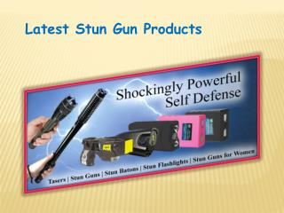 Wholesale Stun Gun Flashlights