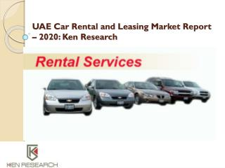 UAE Car Rental Market|Thrifty UAE Car Rental|Europcar Fleet Size UAE