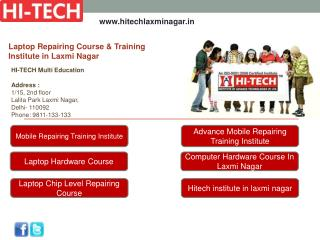 Laptop Repairing Course & Training Institute in Laxmi Nagar