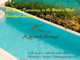 Karma Group � Award Winning International Travel and Lifestyle Brand