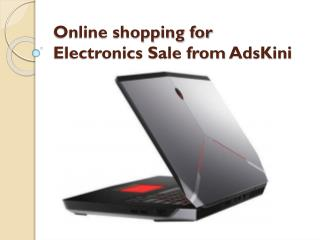 Online shopping for Electronics Sale from AdsKini