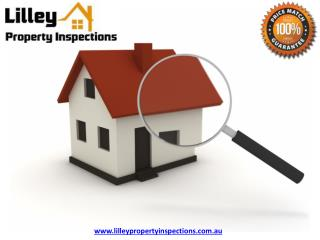 Building Inspection Melbourne - Lilley Property Inspections
